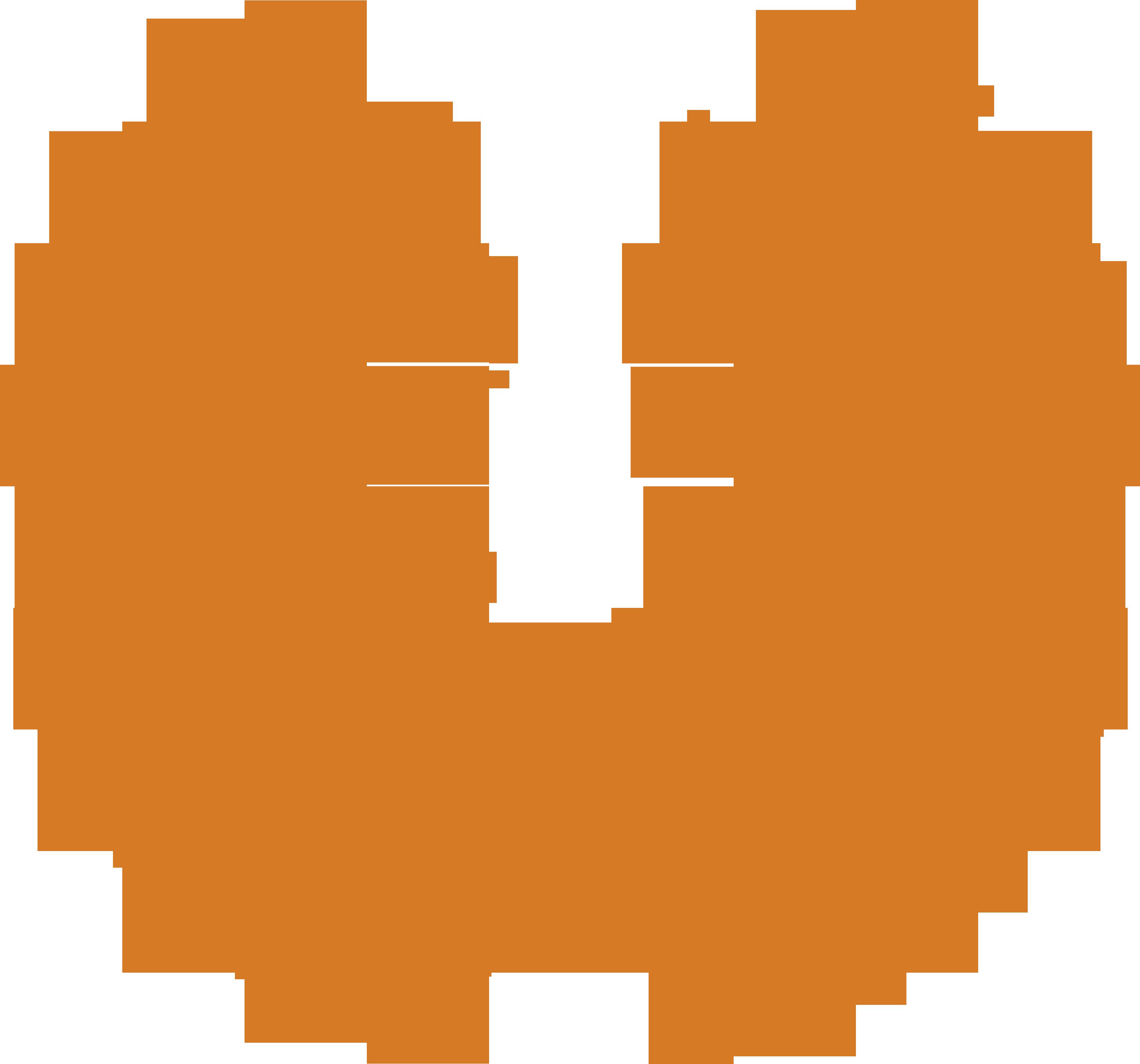 Monarca Builders Logo Transparent Orange